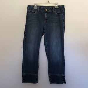 Simply Vera ankle jeans straight legged size 6